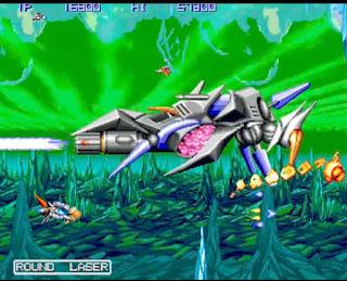 コナミ ゼクセクスのプレイ画面1