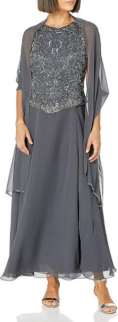 Elegant Grey Mother of The Bride Dresses