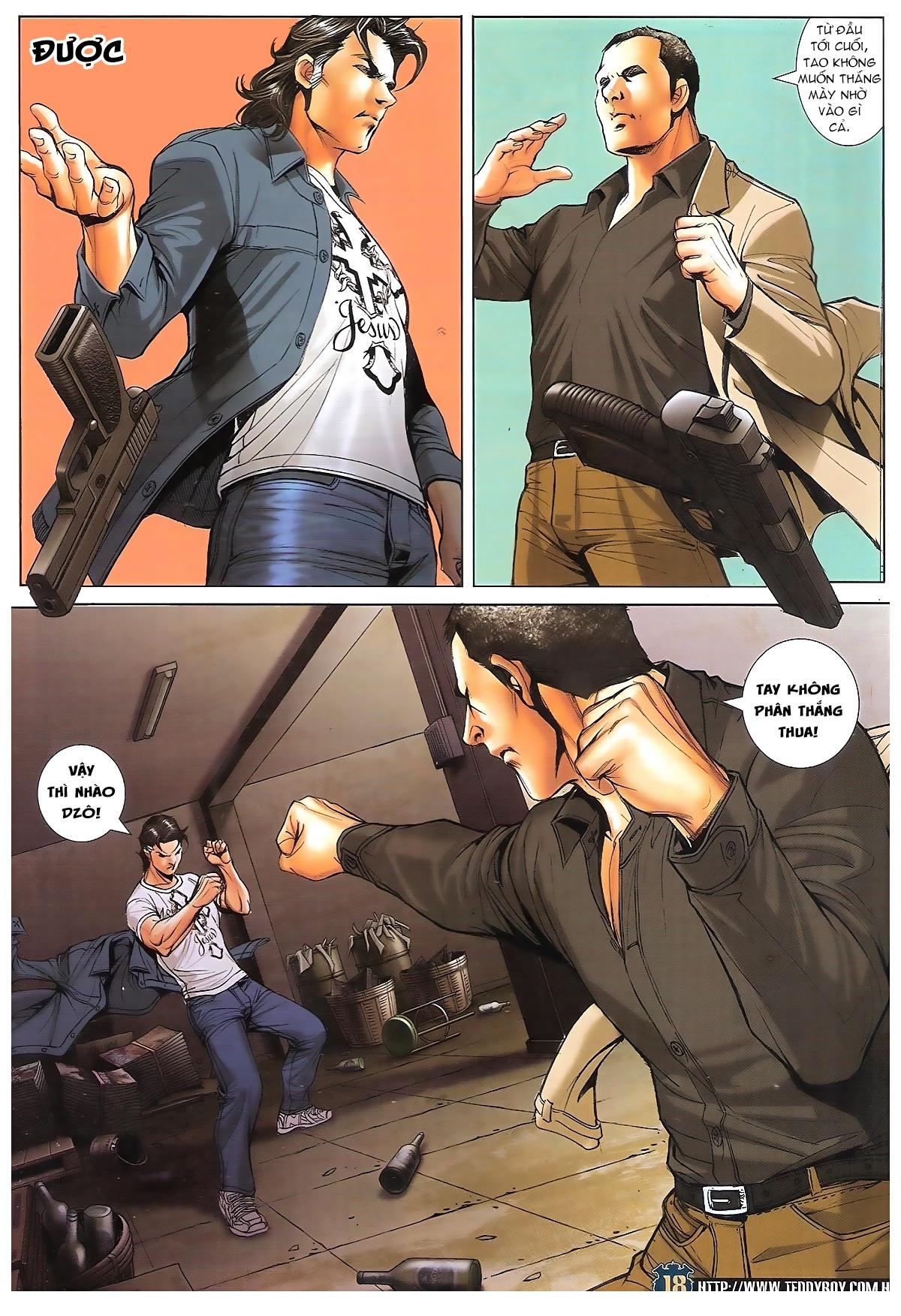 Người Trong Giang Hồ chapter 1706: kịch chiến trang 17