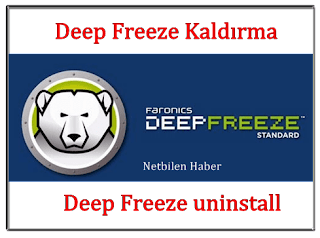 Deep Freeze (uninstall password)