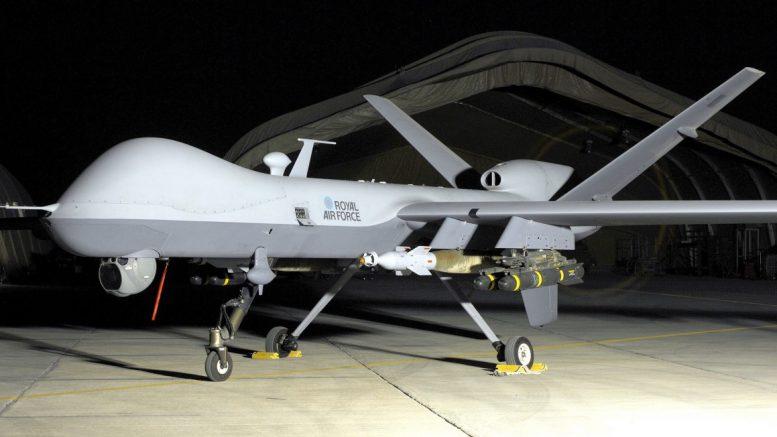 Διεθνής επίδειξη του MQ-9 Reaper στην 110 ΠΜ στη Λάρισα