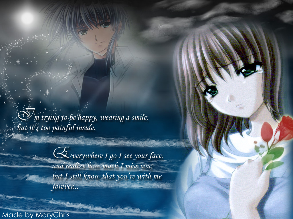 Kata Kata Anime Cinta Bertepuk Sebelah Tangan