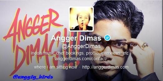 8. Angger Dimas, Musician - @anggerdimas