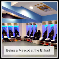 The Etihad Dressing Rooms