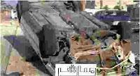 تقاصيل حادثة انقلاب تاكسي اليوم واسماء المصابين