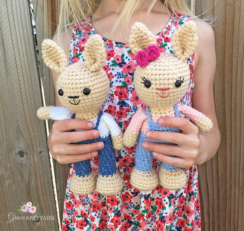 Free Amigurumi Bunny Crochet Patterns | 758x800