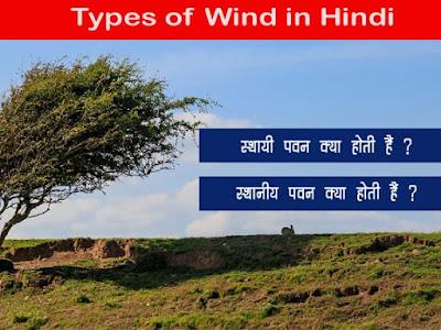 पवन का होती हैं  What is Wind in Hindi