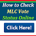 Check Your MLC Vote Application Status Online