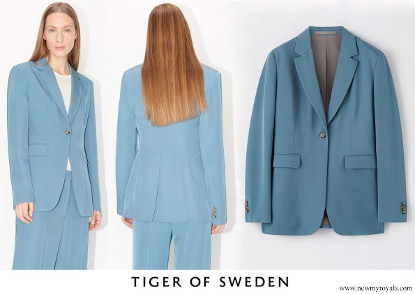 Crown Princess Victoria wore Tiger of Sweden Narina Blazer