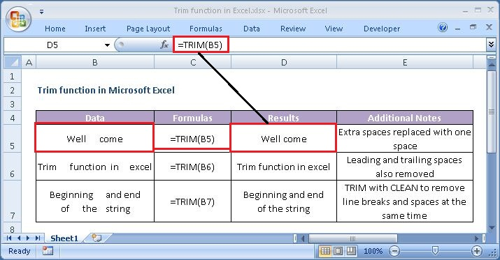 How to use the TRIM function in Microsoft Excel - TechWorld