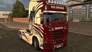 Scania R Emperor skin mod by Ghass72