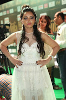 Meghana Gaur in a Deep Neck Sleeveless White Gown at IIFA Utsavam Awards 016.JPG