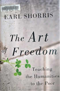 Book cover to The Art of Freedom by Earl Shorris