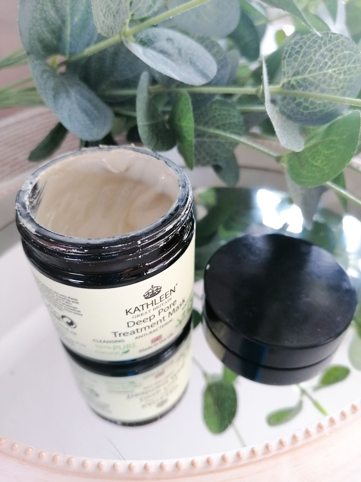 Kathleen deep pore cleansing mask