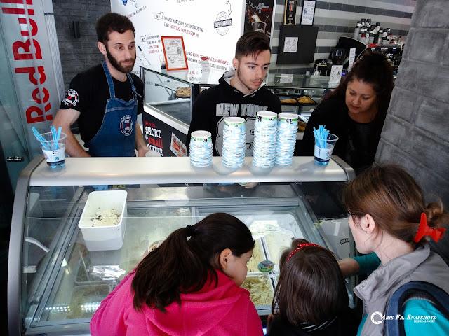 Ουρές στην Τούμπα για την Ημέρα Δωρεάν Παγωτού
