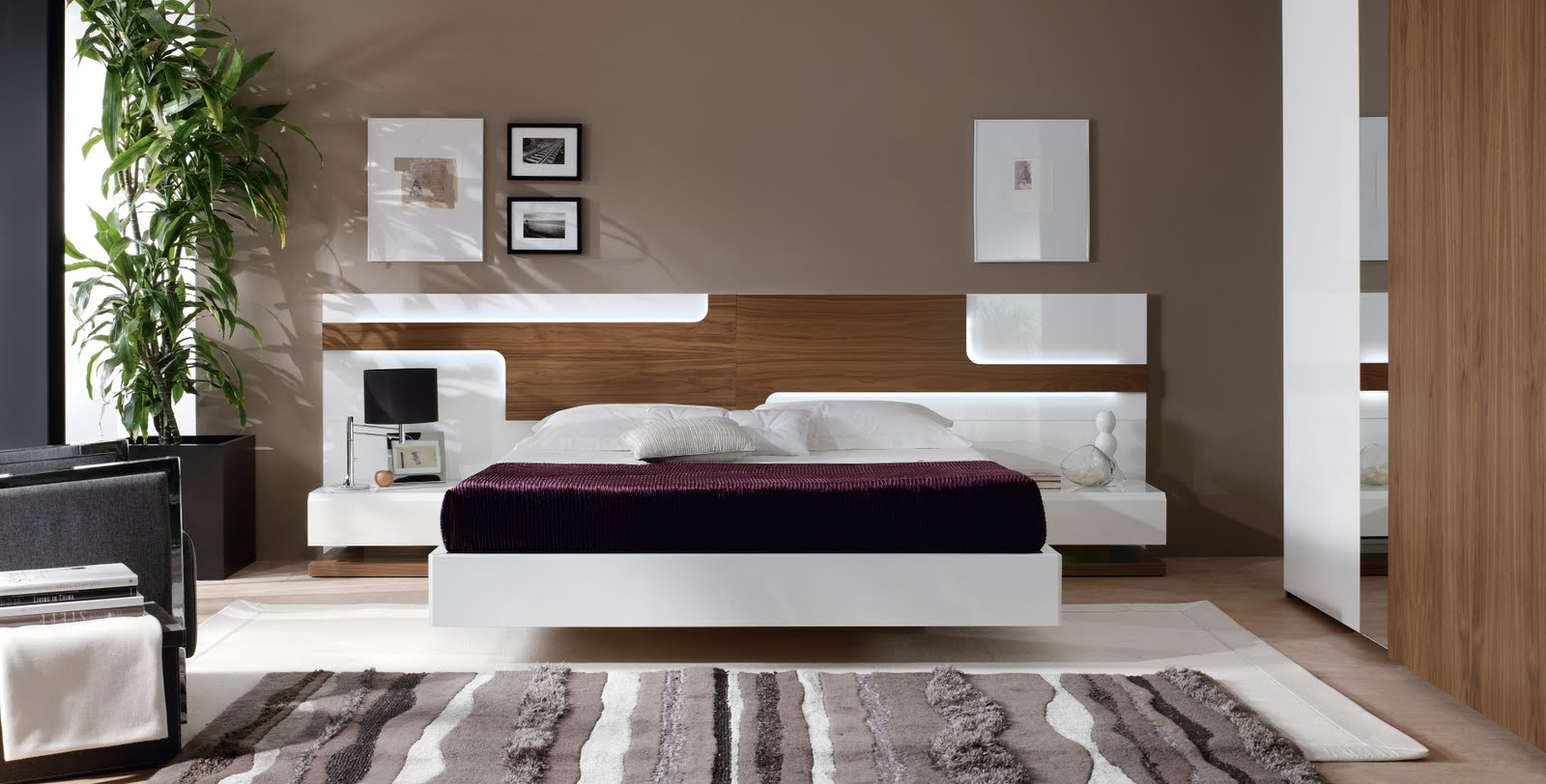 Dormitorios de matrimonio living for Decoracion habitacion matrimonio moderna
