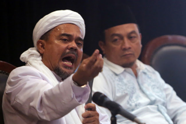 Seruan Habib Rizieq di Jabal Rahmah: Kompak 2019 Ganti Presiden