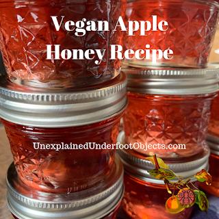 vegan apple honey recipe
