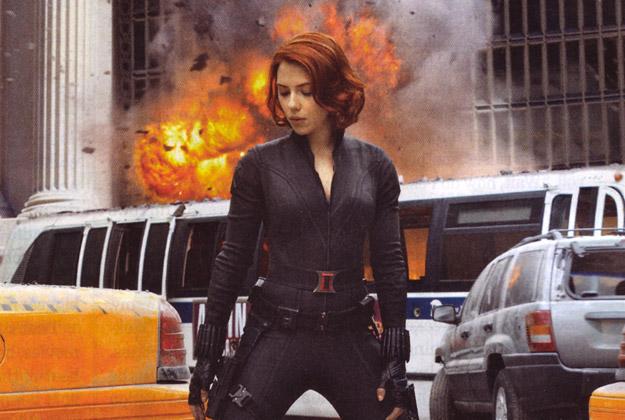 Scarlett Johannson es La Viuda negra