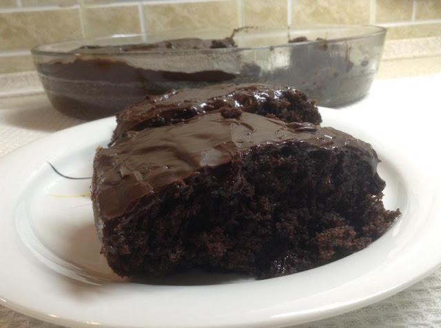 Νηστίσιμη σοκολατόπιτα