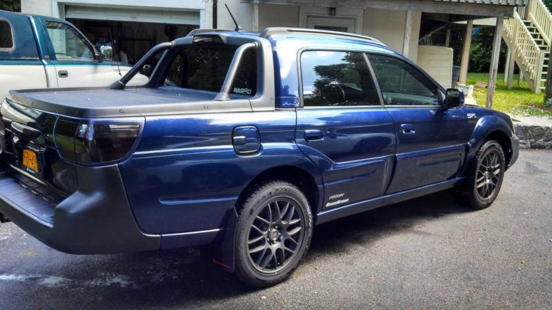 10k A Pickup With Giddyup 2005 Subaru Baja Turbo