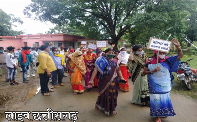 live chhattisgarh news,putla dahan modi video, gariaband mainpur news,