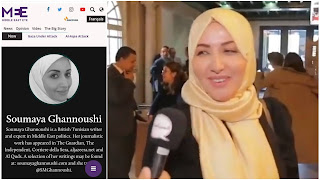 سمية الغنوشي كاتبة بريطانية تونسية وخبيرة في سياسات الشرق الأوسط في موقع middleeasteye الذي نشر وثيقة الانقلاب