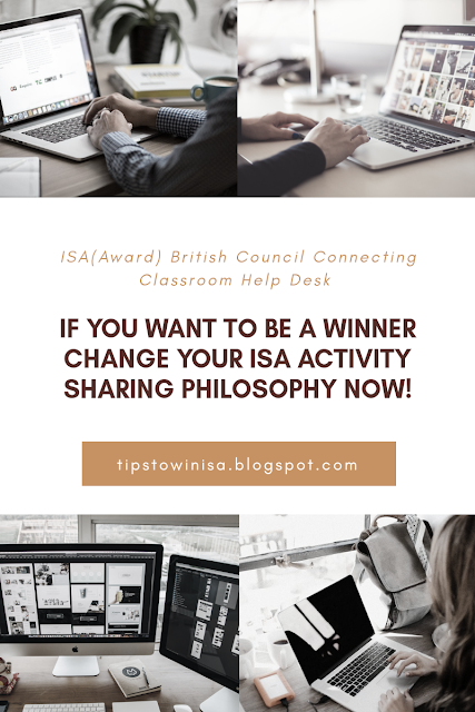 If You Want To Be A Winner, Change Your ISA Activity Sharing Philosophy Now!