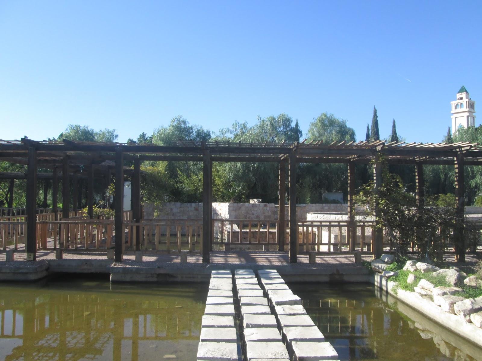 sous les tilleuls le jardin japonais tunis