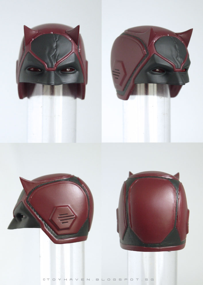 how to make a daredevil helmet
