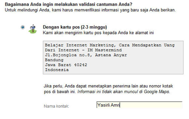 Mensubmit Situs Atau Bisnis Ke Google Local Place For Business