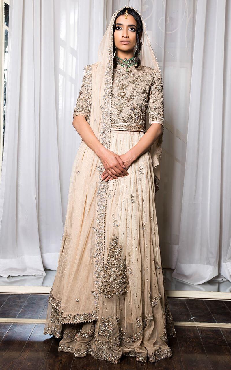 Fahad Hussayn Bridal Nikah Dress