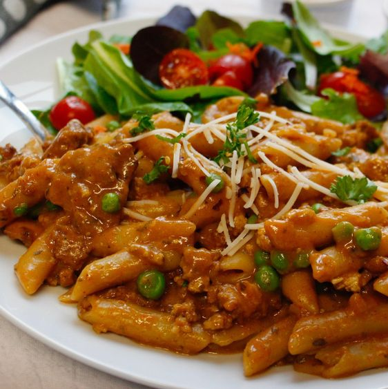 Vegan Hamburger Helper