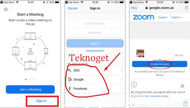 Cara Menggunakan Aplikasi Zoom Meeting Di Hp