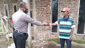 Binmas Polsek Pameungpeuk Polresta Bandung Imbau Warga Terkait Protokol Kesehatan