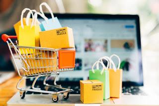 Jualan melalui online shop