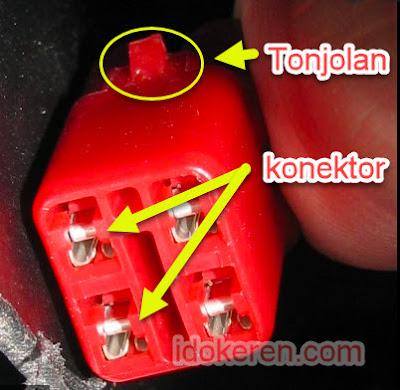 posisi konektor DLC
