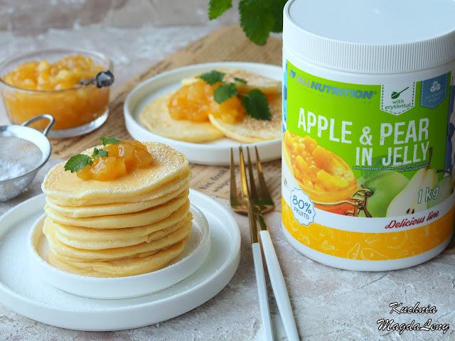 Placki z frużeliną jabłowo-gruszkową Allnutrition
