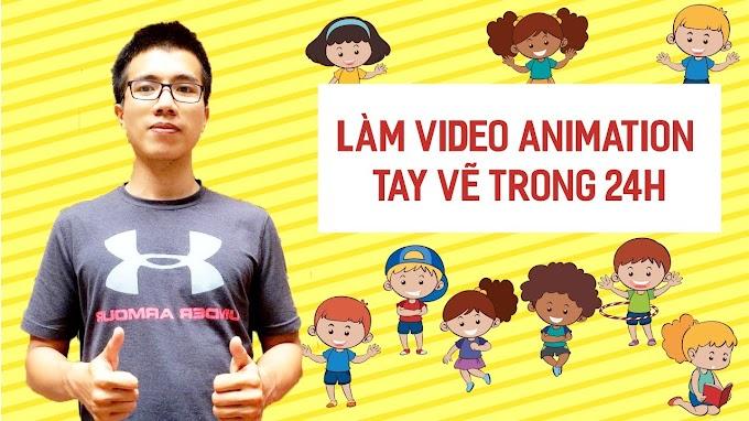 Video animation dạng tay vẽ