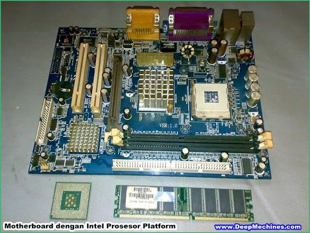 Mengenal antara 2 Platform Motherboard untuk AMD dan Intel Prosesor