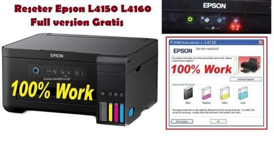 Reseter Epson L4150 L4160 Full Gratis