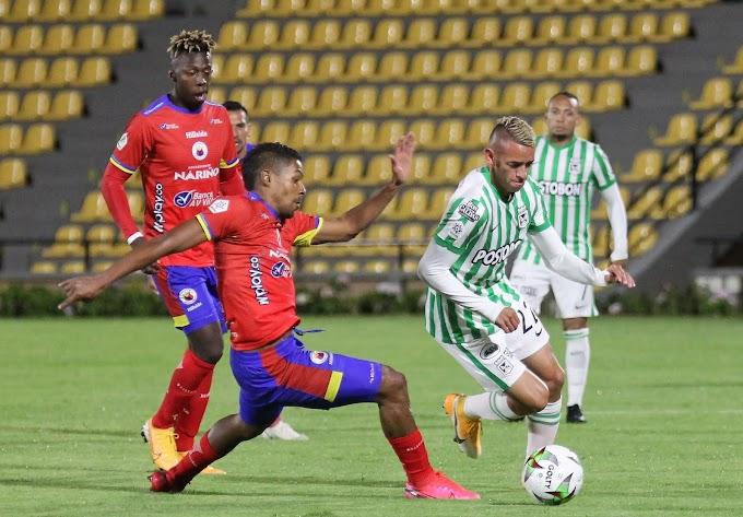 Con ayuda del VAR, Atlético Nacional se salvó de un nuevo bochorno en la Liga BetPlay 1 2021: 0-0 ante Pasto