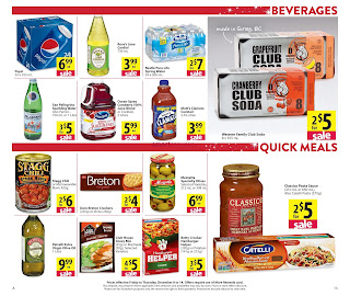 Save on foods weekly flyer December 8 - 14, 2017