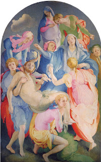 Jacopo Pontormo's masterpiece, The Deposition from the Cross