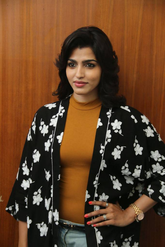 Dhanshika At Uru Movie Press Meet Photo Gallery