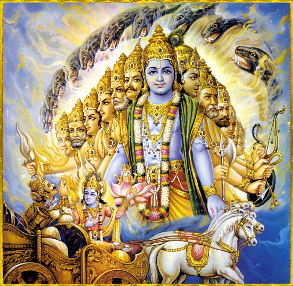 Kali could not appear till Krishna remained on Earth