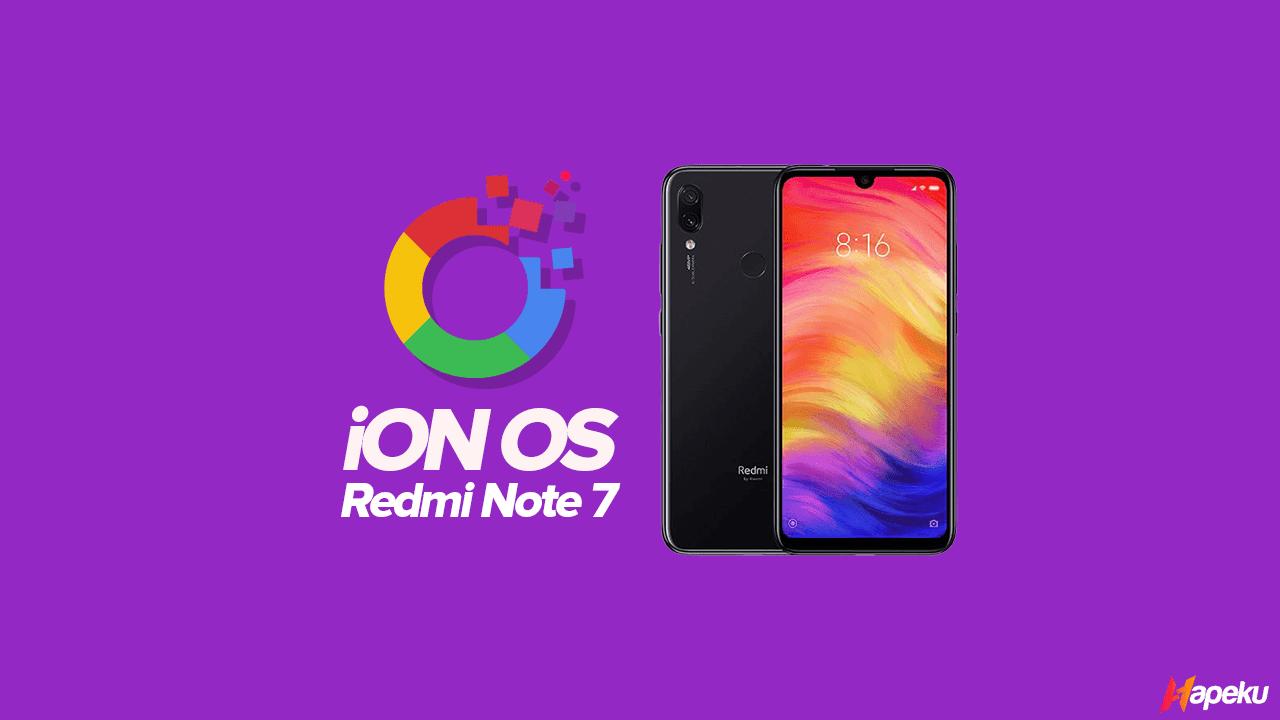 ROM iON OS Xiaomi Redmi Note 7 ( LAVENDER )