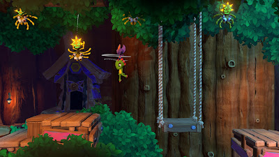 Yooka Laylee And The Impossible Lair Game Screenshot 6