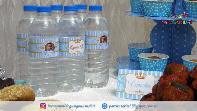 su şişesi etiketleri
