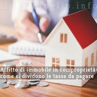 tasse per affitto immobile in comproprieta